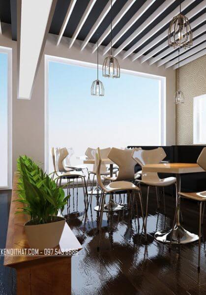 Thiết kế nội thất quán cafe Hồ Tây Hà Nội đẹp, sáng tạo và cuốn hút