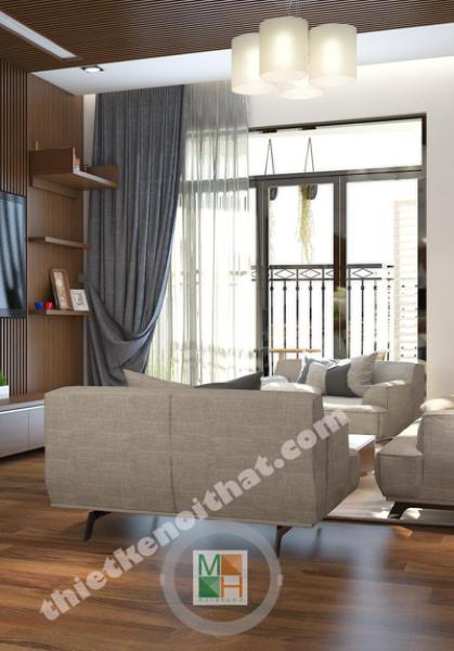 Thiết kế căn hộ hiện đại tại chung cư Royal City - Chị Trang