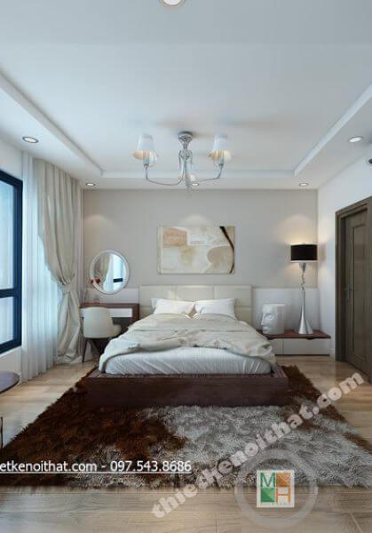 Thiết kế nội thất căn hộ tại TimesCity, Hai Bà Trưng, Hà Nội - Mrs. Hoa.