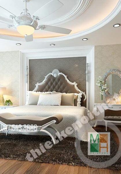 Thiết kế nội thất biệt thự cao cấp tại Lý Nam Đế - Nhà chị Hương