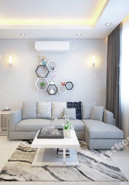 Thiết kế nội thất căn hộ chung cư SaigonLand - Nhà anh Quang