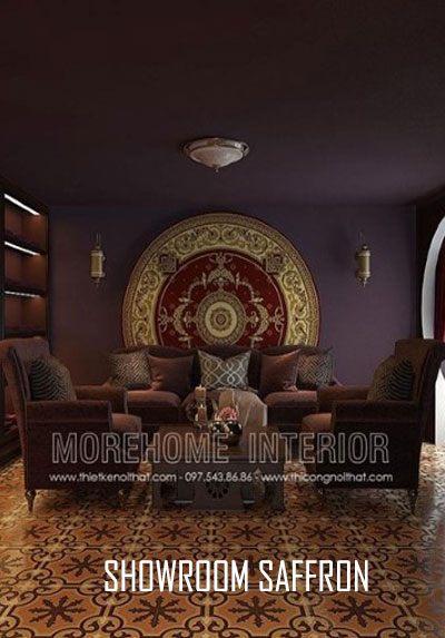 Thiết kế nội thất showroom Saffron Nha Trang vẻ đẹp sang trọng