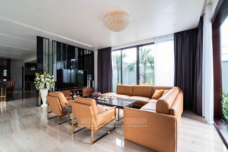 Thi công nội thất biệt thự hiện đại cao cấp tại Hà Tĩnh