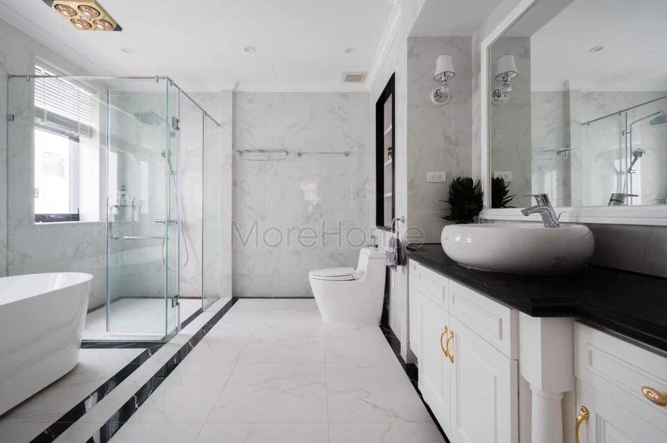 Thi công phòng tắm biệt thự Vinhomes Gardenia Mỹ Đình