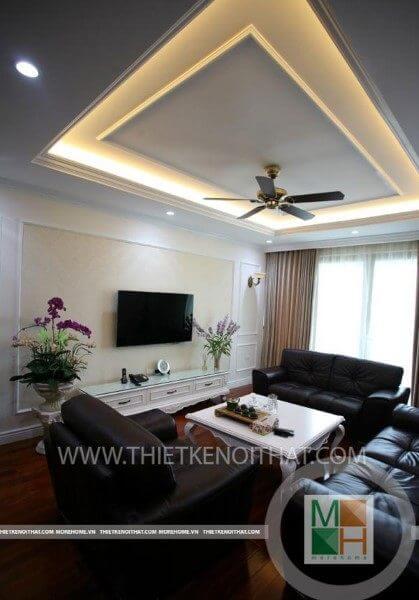 Thi công nội thất chung cư cao cấp tại Mandarin Garden Hòa Phát - Mr Tuấn