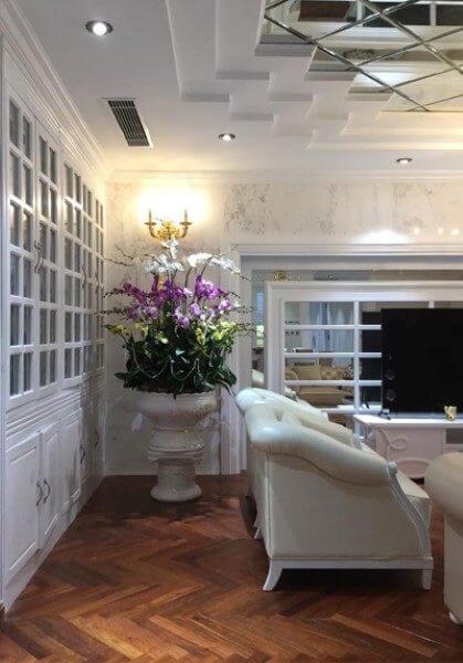 Thi công nội thất căn hộ chung cư Hà Đô đẹp