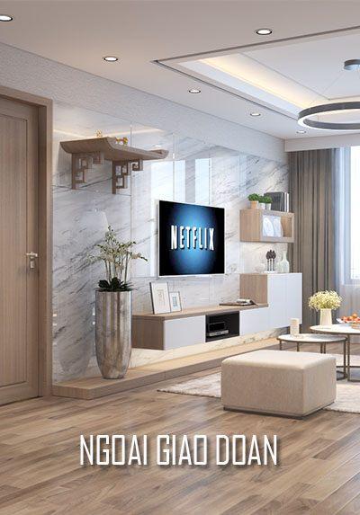 Thiết kế căn hộ chung cư Ngoại Giao Đoàn - Anh Sơn