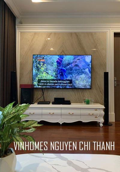 Thi công nội thất chung cư tân cổ điển tại Vinhomes Nguyễn Chí Thanh Hà Nội