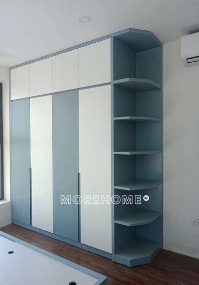 Thi công nội thất chung cư hiện đại An Bình city đang hoàn thiện