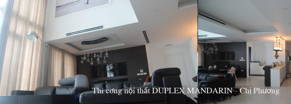 Thi công nội thất căn hộ Duplex