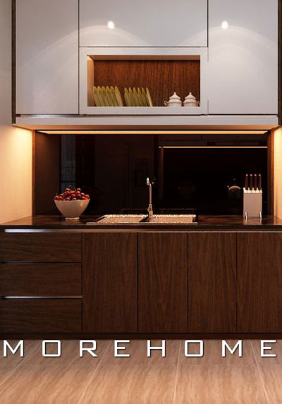 Mẫu thiết kế phòng bếp đẹp, ấn tượng được người nội trợ yêu thích