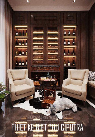Thiết kế nội thất biệt thự cao cấp tại Ciputra phong cách tân cổ điển