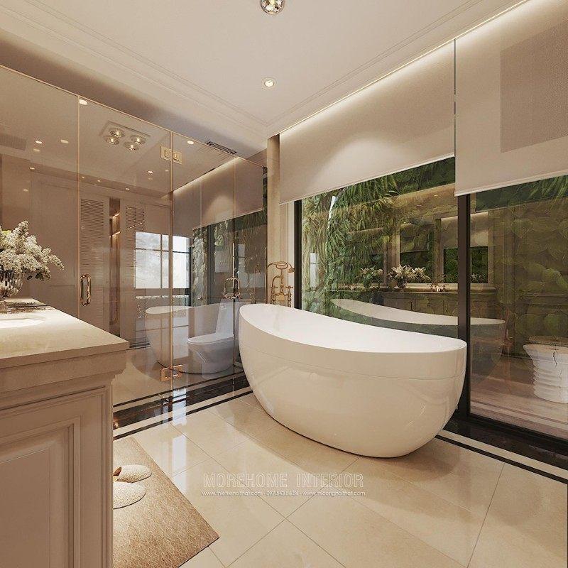 Thiết kế phòng tắm biệt thự ciputra tây hồ hà nội