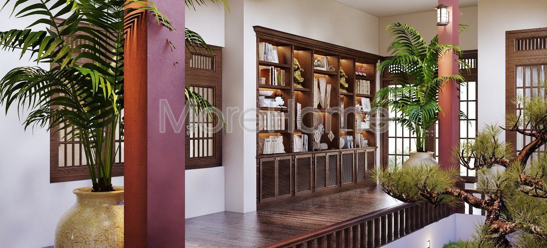 Thiết kế nội thât biệt thự gỗ tp pleiku