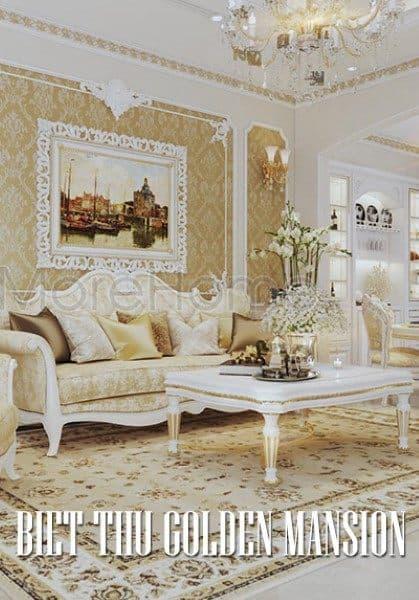 Thiết kế biệt thự tân cổ điển Golden Mansion Phổ Quang quý phái