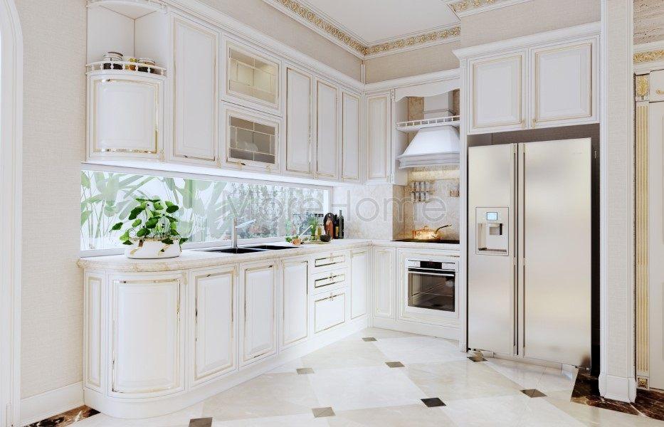 Thiết kế biệt thự tân cổ điển Golden Mansion