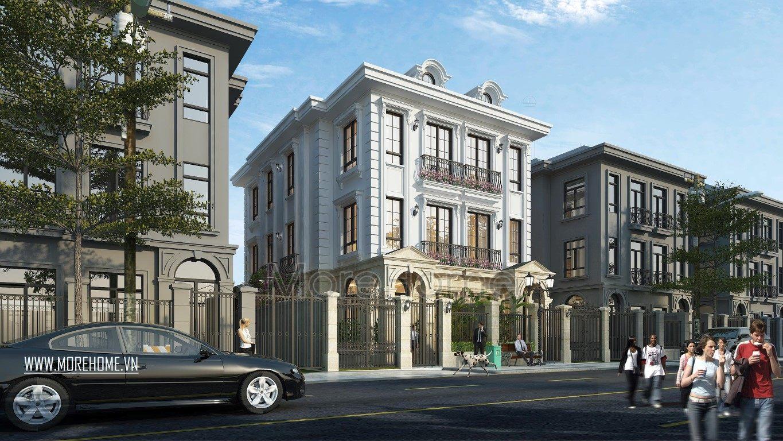 Thiết kế kiến trúcbiệt thự Vinhomes Green Bay