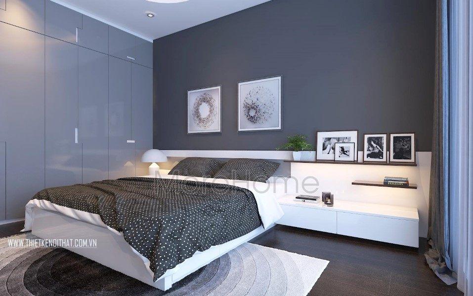 Thiết kế nội thất phòng bếp biệt thự hiện đại tai TP Vinh