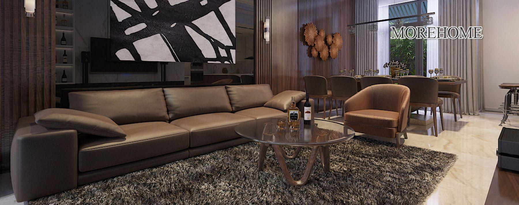 Thiết kế nội thất nhà liền kề khu đô thị Đại Kim Hoàng Mai Hà Nội