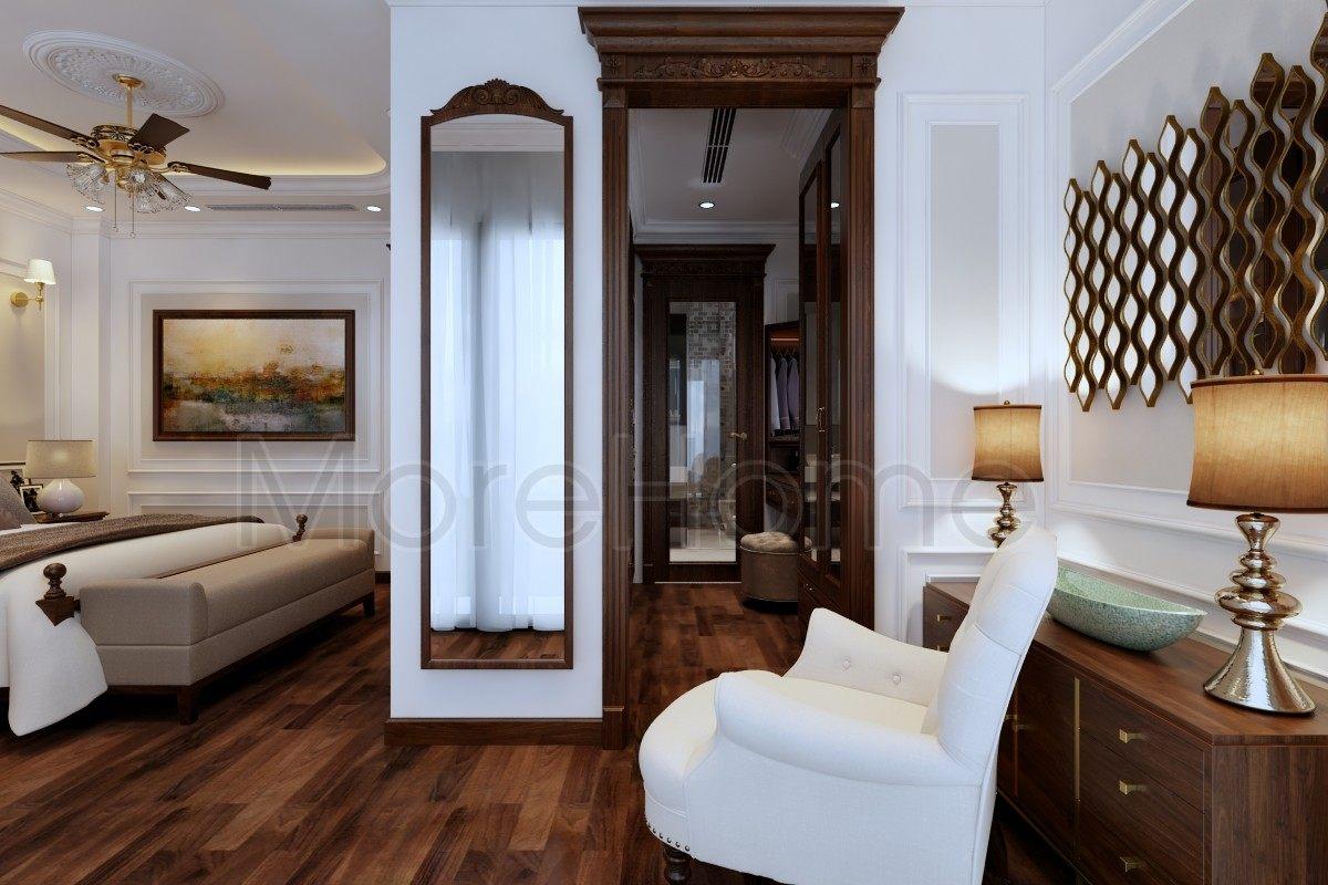 Thiết kế nội thất biệt thự Lake View Q2