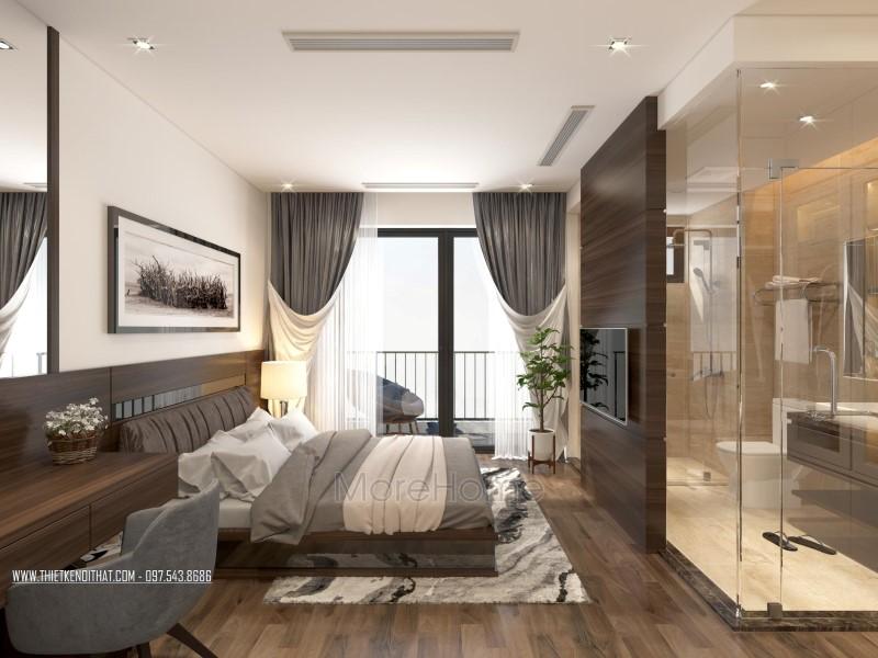 Thiết kế nội thất biệt thự liền kề Vinhomes Thăng Long hiện đại