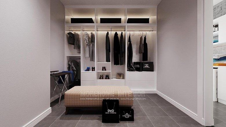 Tủ quần áo biệt thự louis city đại mỗ nam từ liêm hà nội