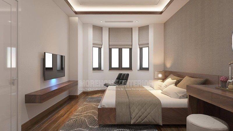Thiết kế nội thất phòng ngủ cho biệt thự manhattan tại vinhomes imperia hải phòng