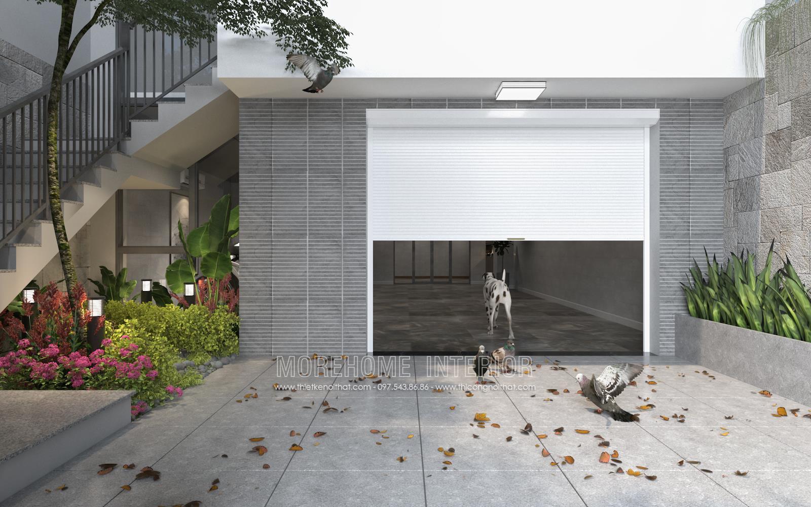Thiết kế nội thất biệt thự hiện đại tại Vinh Nghệ An