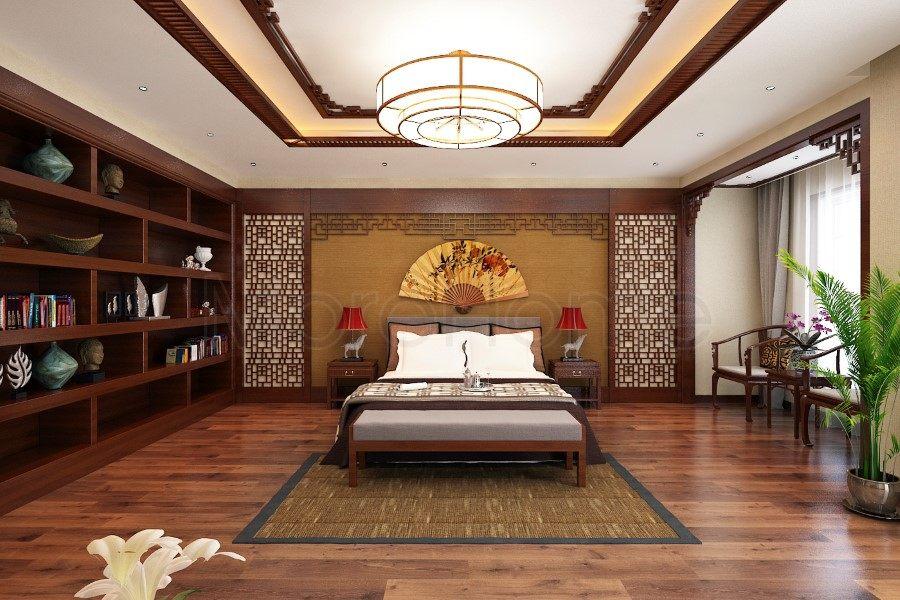 thiết kế biệt thự nhà anh trường phòng ngủ lầu 3