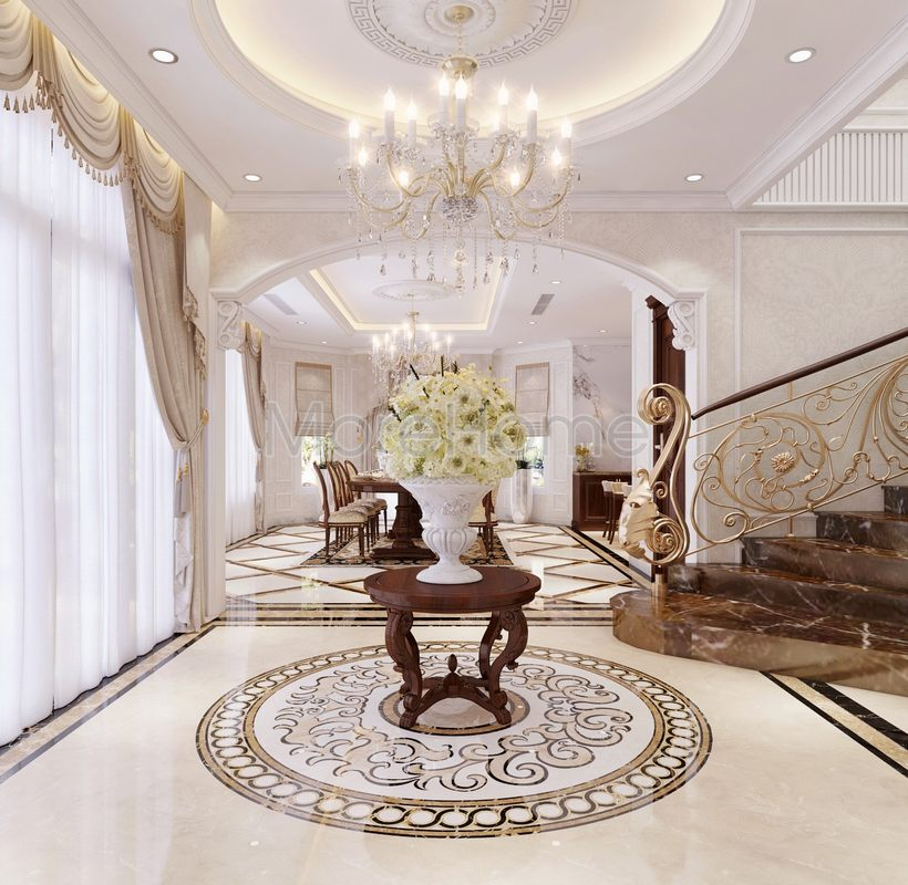 Thiết kế nội thất biệt thự Phan Thiết