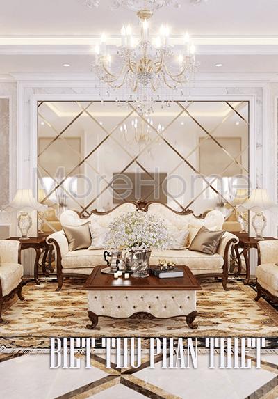 Thiết kế nội thất biệt thự Phan Thiết đẳng cấp