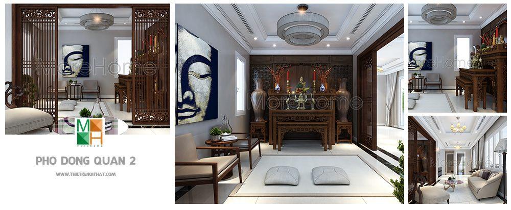 thiết kế nội thất biệt thự Phố Đông