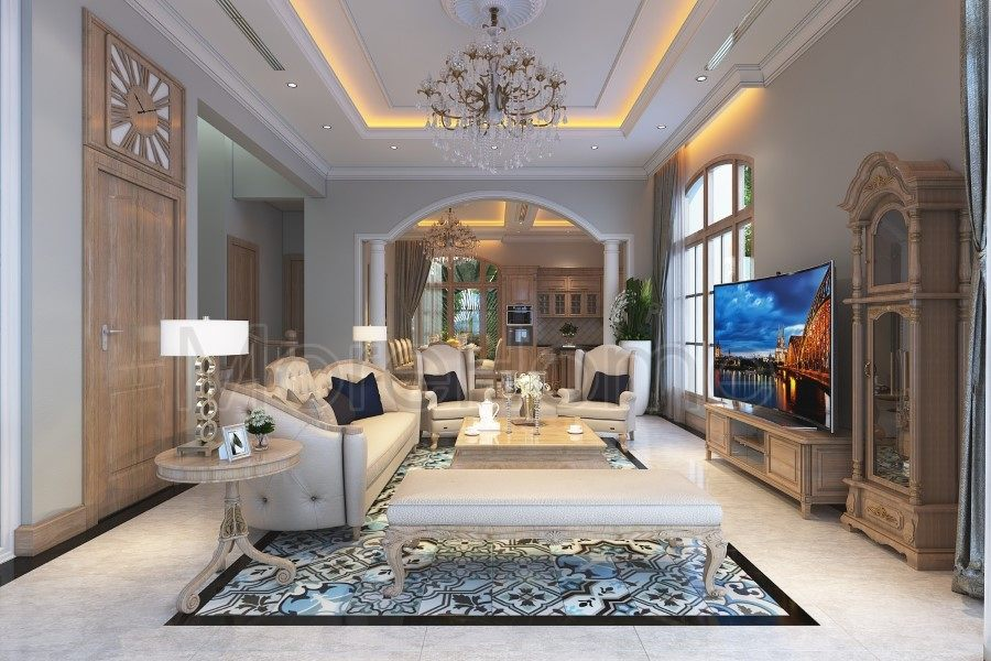 Thiết kế nội thất biệt thự Thủ Đức