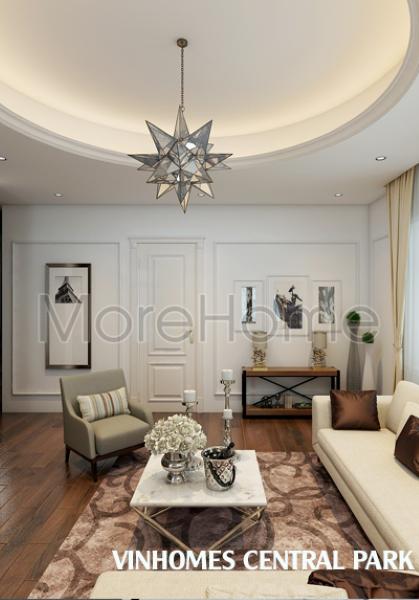 Thiết kế nội thất biệt thự Vinhomes Central Park  - Chị Sương
