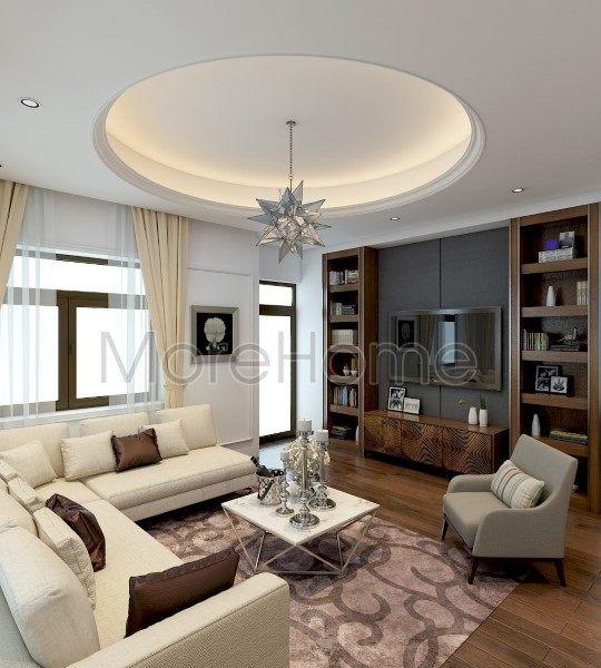 Thiết kế nội thất biệt thự Vinhomes Central Park