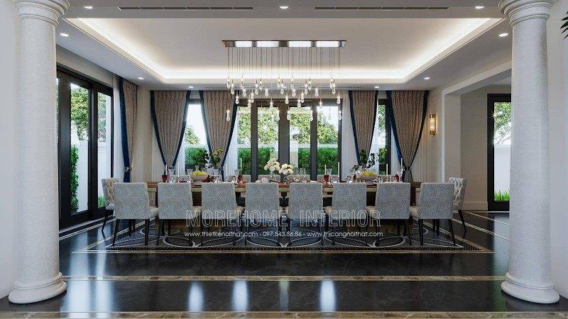 Thiết kế nội thất biệt thự luxury tại hải phòng