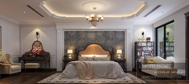 Thiết kế nội thất biệt thự Vinhomes Phú Lý Hà Nam