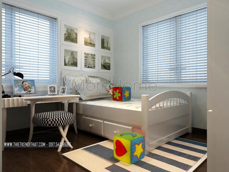Thiết kế nội thất Vinhomes Riverside phong cách tân cổ điển