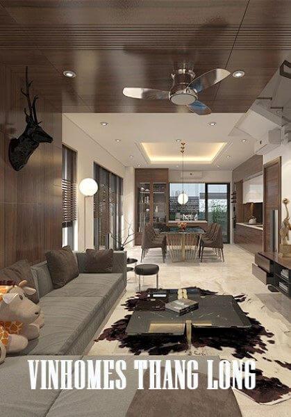 Thiết kế nội thất biệt thự Vinhomes Thăng Long - Anh Hai