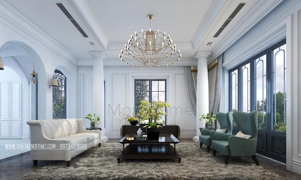 Thiết kế biệt thự tân cổ điển cao cấp tại Vinhome RiverSide - Anh Thanh
