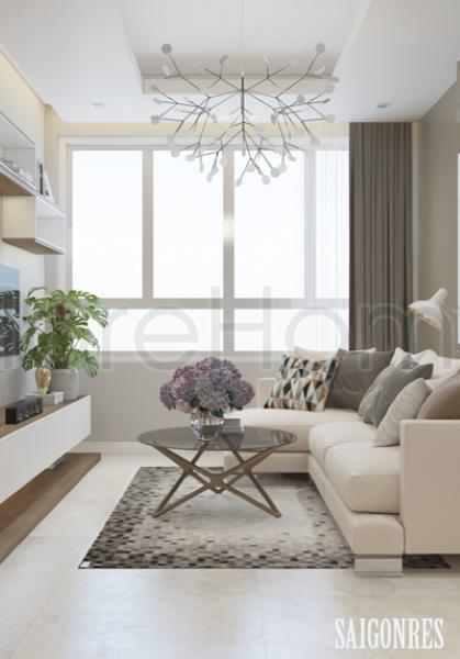 Thiết kế nội thất căn hộ chung cư Saigonres - Anh Triệu sáng tạo, hiện đại