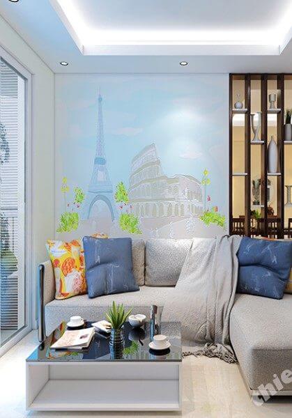 Thiết Kế nội thất chung cư An Khang phong cách tối giản, đẹp