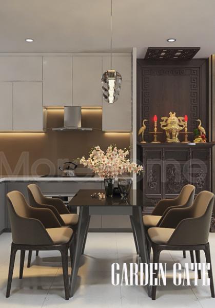Thiết kế nội thất căn hộ Garden Gate - Quận Phú Nhuận