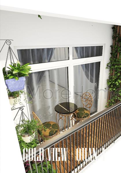 Thiết kế căn hộ Gold View - Quận 4 phong cách tân cổ điển sang trong