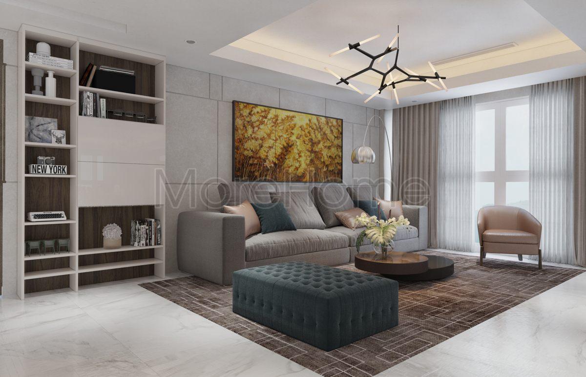 Thiết kế căn hộ happy valley