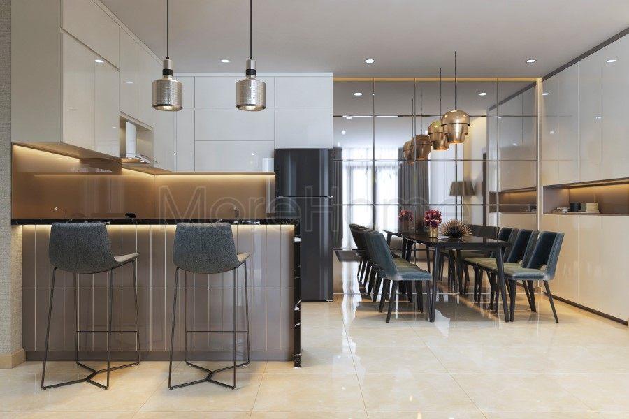 Thiết kế nội thất căn hộ tại chung cư Luxcity Quận 7