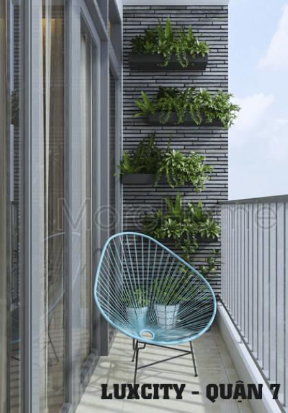 Thiết kế nội thất căn hộ tại chung cư Luxcity Quận 7 Tphcm - Chị Thủy