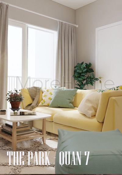 Thiết kế nội thất căn hộ chung cư The Park Residence - Quận 7 Hcm
