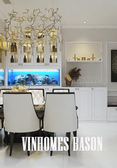 Thiết kế căn hộ chung cư Vinhomes Bason - Anh Minh tân cổ điển đẹp