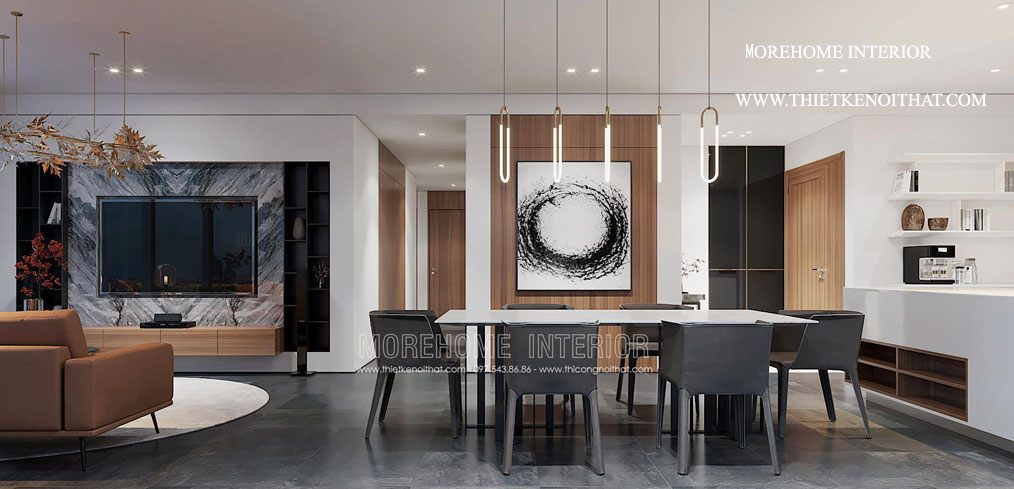 Thiết kế nội thất chung cư vinhome bason quận 1 hcm